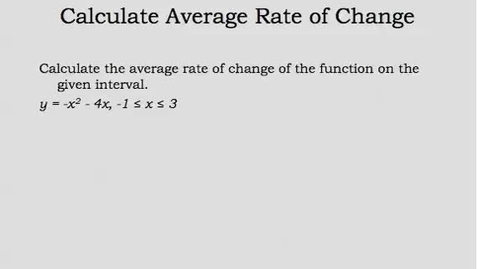 Thumbnail for entry Math 2: Complex Solutions of Quad Equat Models 13