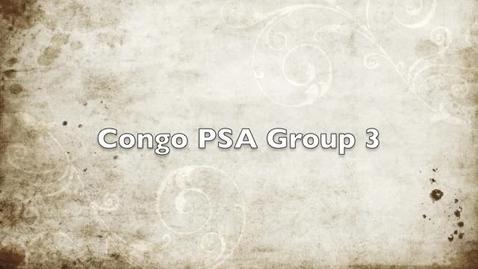 Thumbnail for entry Congo PSA group 3
