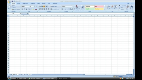 Thumbnail for entry Create A Line Graph in Excel