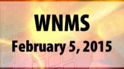 Thumbnail for entry 02-05-15 WNMS Season 1.5 Episode 75