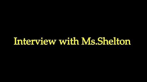 Thumbnail for entry Michelle Shelton