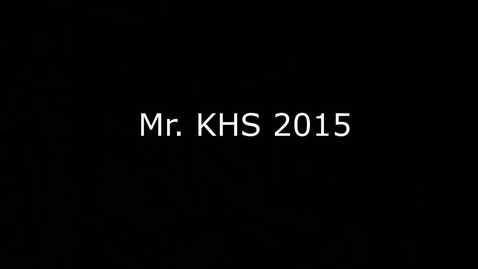 Thumbnail for entry Mr. KHS Physical Challenge