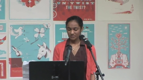 Thumbnail for entry Seetha Reads Her Poetry