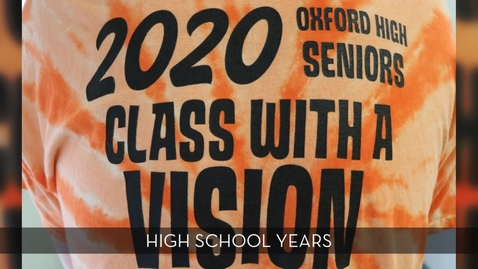 Thumbnail for entry OHS Class of 2020 Vision High School