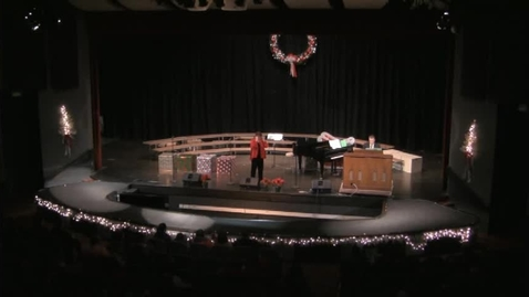 Thumbnail for entry South Newton Holiday Musicale 2015