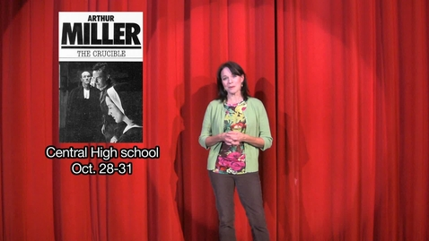 Thumbnail for entry Kickapoo Theater Promo - ChiefTV - Broadway Actress Kim Crosby