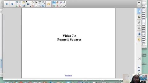 Thumbnail for entry The Punnett Square Explained