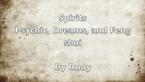 Thumbnail for entry Richardga Spirits Video 2