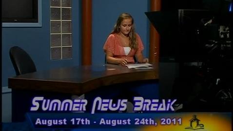 Thumbnail for entry NHCS Summer News Break-August 17, 2011
