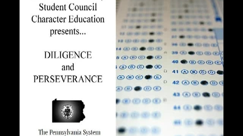 Thumbnail for entry Character Education by Emerson Student Council: Diligence and Perseverance