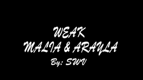 Thumbnail for entry Weak - WSCN Music Video 2015/2016