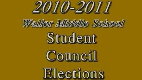 Thumbnail for entry Elections 2010