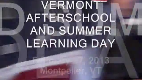 Thumbnail for entry 2013 Vermont Legislative Day