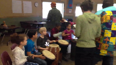 Thumbnail for entry Kids Drumming
