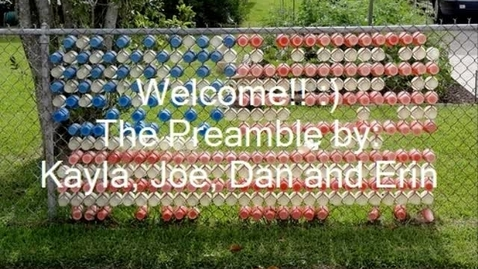 Thumbnail for entry United States Constitution Preamble Social Studies Middle School