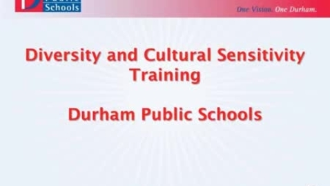 Thumbnail for entry DPS Diversity and Cultural Sensitivity Training