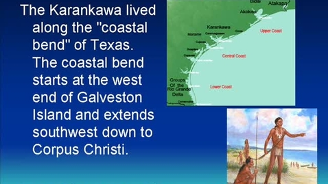 Thumbnail for entry The Karankawa Indians
