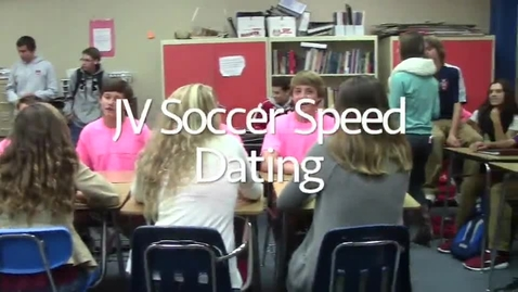 Thumbnail for entry JV Soccer Speed Dating