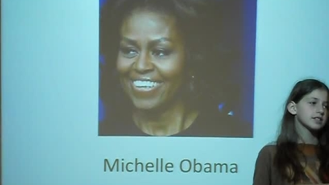 Thumbnail for entry Michelle Obama
