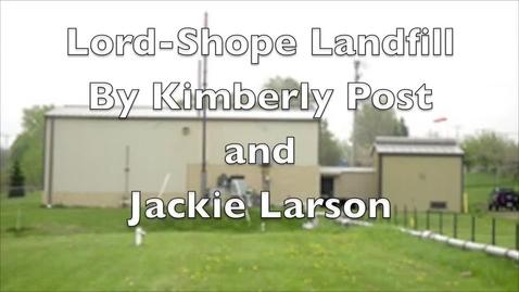 Thumbnail for entry Lord-Shope Landfill - Larson,Post