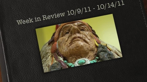 Thumbnail for entry 10/9/11 - 10/14/11-week in review- ChiefTV 2011