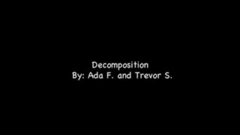 Thumbnail for entry Ada Trevor Decomposition