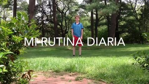 Thumbnail for entry Mi Rutina Diaria