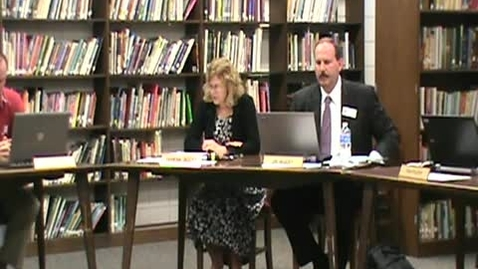 Thumbnail for entry School Board Meeting 5/10/12