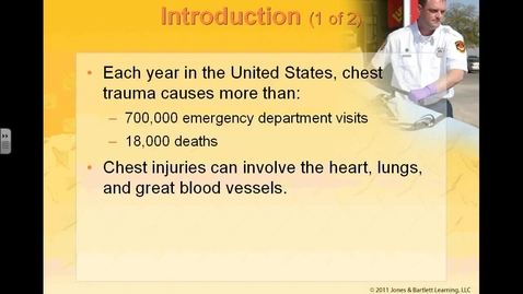 Thumbnail for entry Chest Injuries Part 1 Lecture Feb 20,2013