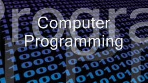Thumbnail for entry Computer Programming