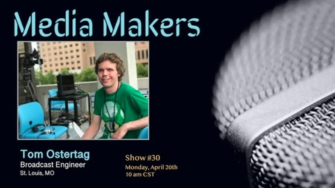 Thumbnail for entry Media Makers show #30 - Tom Ostertag