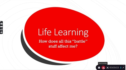 Thumbnail for entry Life Learning