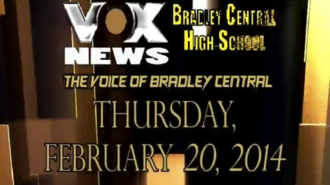 Thumbnail for entry VOX News for Thursday, February 20, 2014