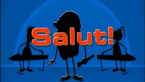 Thumbnail for entry French Rap: Salut!