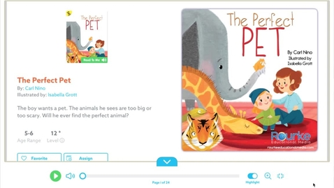 Thumbnail for entry The Perfect Pet by Carl Nino