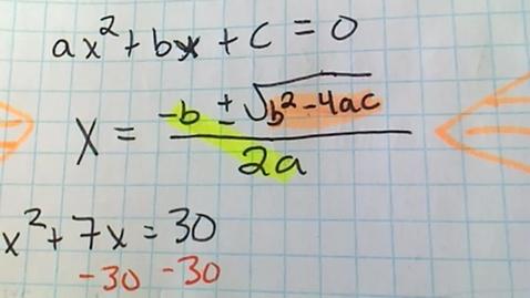 Thumbnail for entry Algebra 1 - Test 5.22.2020