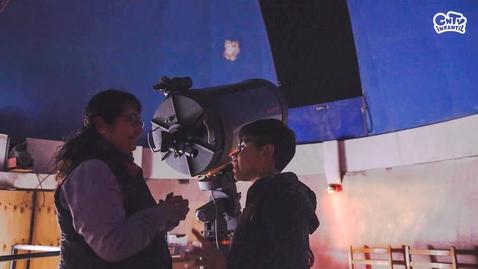 Thumbnail for entry Arqueo astrónoma: explicado para niños | Y tú ¿en qué trabajas?
