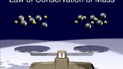 Thumbnail for entry Conservation of Matter
