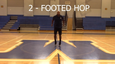Thumbnail for entry 2 Footed Hop - Coach Harris