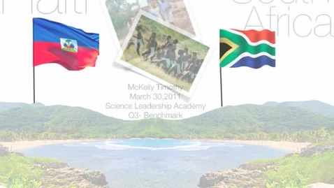 Thumbnail for entry South Africa and Haiti: Collapsibility