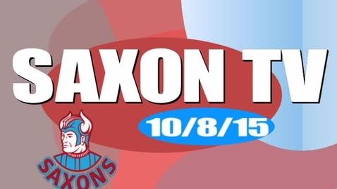 Thumbnail for entry Saxon TV 100815