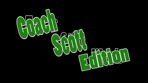 Thumbnail for entry Faces of the Week:  Coach Scott