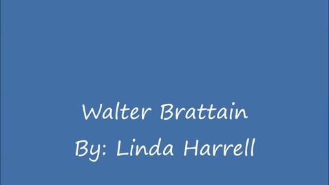 Thumbnail for entry Walter Brattian - Engineer