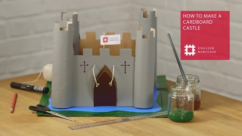 Thumbnail for entry How To Make A Cardboard Castle
