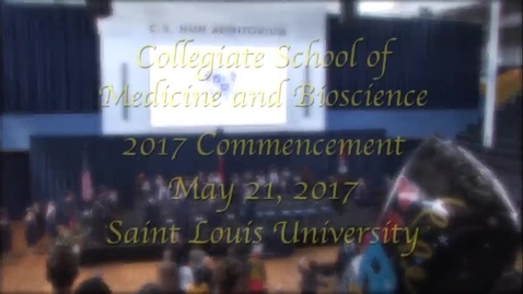 Thumbnail for entry CSMB Inaugural Commencement Ceremony, 2017
