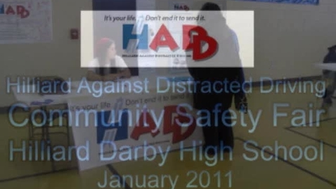 Thumbnail for entry HADD Community Safety Fair