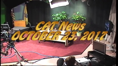 Thumbnail for entry Weekly Newscast for 10-24-17