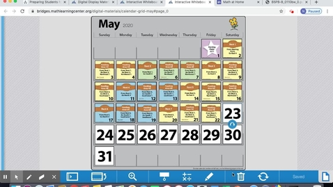 Thumbnail for entry May 26 Calendar