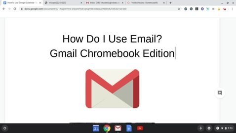 Thumbnail for entry Student Guide to Gmail