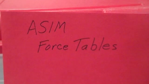 Thumbnail for entry ASIM - Force Tables
